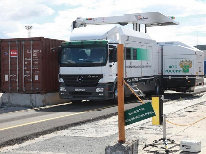 Находкинская таможня: количество осматриваемых ИДК контейнеров выросло на28%